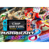 Mario Kart 8 Deluxe Nintendo Switch + Chip Virtual (lea 1ro)
