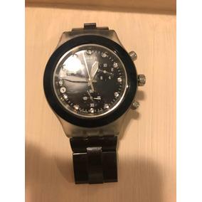 c55d9addd60 Relogio Swatch Irony Diaphane Preto - Relógios De Pulso no Mercado ...