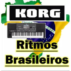 Ritmos Brasileiros Para Os Teclado Korg Pa500,pa600 Pa900