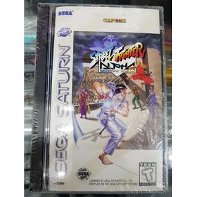 Street Fighter Alpha, Sega Saturn Original Lacrado