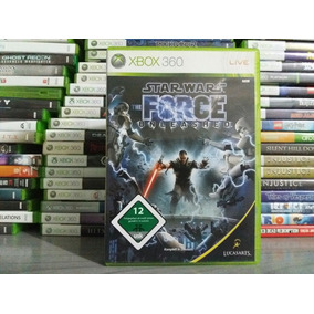 Jogo Star Wars The Force Unleashed Xbox 360 Original Mídia