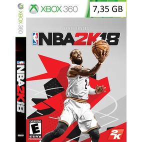 Nba 2k18 Xbox 360 - Midia Digital