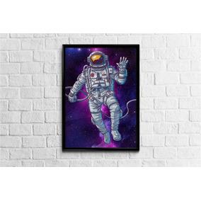 Pôster Astronauta Saldoce 42x29,7cm