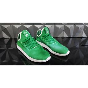 Sneaker Pharrel Williams Tennis Hu Original Tam. 43 Verde