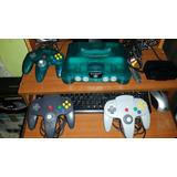 Nintendo 64. 3 Controles Y 11 Juegos