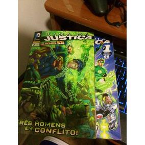 Hq - Liga Justiça Novos 52 1 E 2 Ótimo Estado!