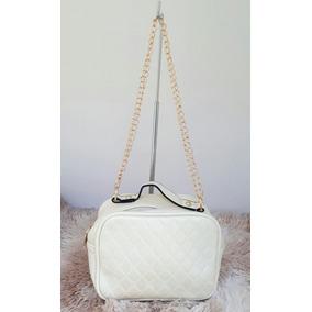 f90fb17a41 Bolsa Feminina Bag Alça Corrente Estilosa Pequena Linda