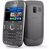 Smartphone Nokia Asha 302 Cinza