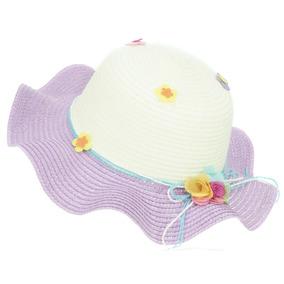 Sombrero De Playa Sol Para Niña Flexible Spn 223-001