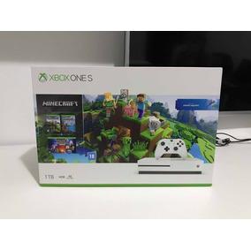 Xbox One S 1tb Minecraft Branco