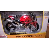 Ducati Moster 696 Escala 1:12, 18cms Moto Coleccionable