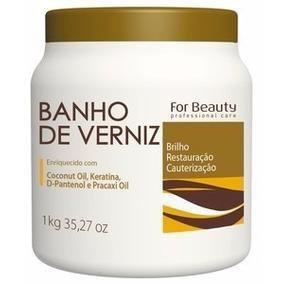 Banho De Verniz 1kg - For Beauty
