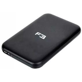 Case Externa Para Hd Notebook Sata 2.5 Usb 3.0 Aluminio F3