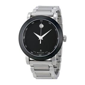 Reloj Movado 606604 Acero Inoxidable Plateado Hombre