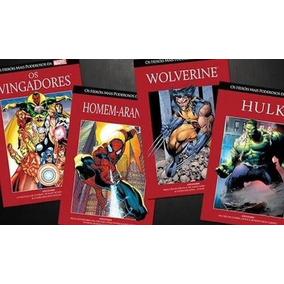Pack: Os Heróis Mais Poderosos Da Marvel: Vol. 1,2,3,4,5 E 7