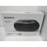 Radio Sony Portatil Cd Casetera Mp3
