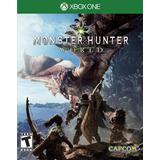 Monster Hunter World Xbox One Juego Nuevo Fisico