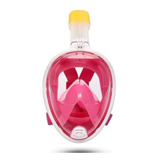 Máscara Snorkel Full Face Mergulho Livre Easybreath