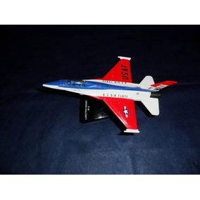 Miniatura Avião F-16 Fighting Falcon U S Air Force