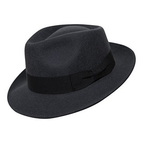 B   S Premium Doyle - Lágrima Sombrero De Fedora - 100% De F 5ebf3136e4f
