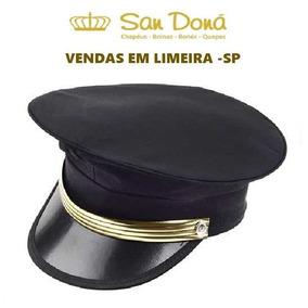 Quepe Motorista Preto Tamanhos  54 A 61 San Doná Desde 1995 7d1a652e1a9