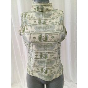 Blusa Dolares Dollars Classe Voyages. La Segunda Bazar