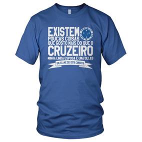 Camiseta Futebol Cruzeiro Raposa Presente De Aniversário 9dc0e568b1721