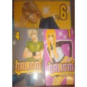 Manga - Lote De 3 Edições - Manga Galism, N° 1, 4 E 6