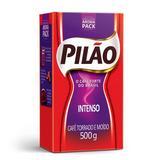Café Pilão Torrado E Moído Intenso Vácuo 500g