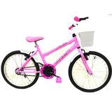 Bicicleta Mtb Aro 20 Feminina
