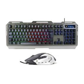 Combo Teclado Mouse Gamer Cyborg Naceb Rgb Na-0911