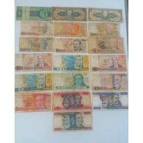 19 Cédulas De Dinheiro - Notas Antigas - Frete Grátis Cod05