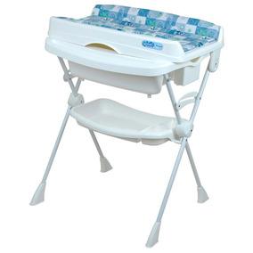 Banheira Com Trocador - Splash! - Peixinho Azul - Burigotto