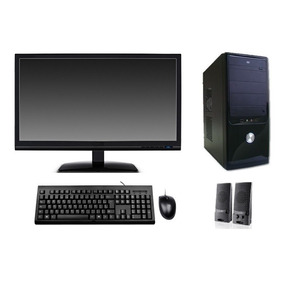 Computador Novo 4gb Hd 500gb Monitor Lcd 19