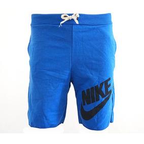 Bermuda Nike Moletom Azul