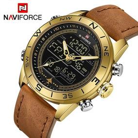 f63bb08c525 Relogio Naviforce Masculino Dourado - Relógio Masculino no Mercado ...