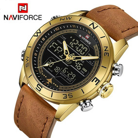 ac8b029439a Relogio Naviforce Masculino Dourado - Relógio Masculino no Mercado ...