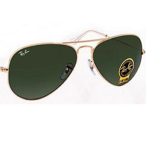 cf8566c6d2c80 Oculos Ray Ban Original Aviador Verde - Óculos no Mercado Livre Brasil
