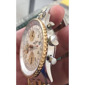 Breitling Navitimer Aço E Ouro, Ref D13022