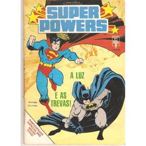 Super-powers - Super-homem E Batman - Ed. 08 (1988) - Hqs
