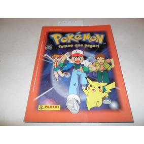 Álbum Pokémon (temos Que Pegar!) - Ano 1999 - Panini - A61