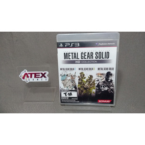 Metal Gear Solid Hd Collection Para Playstation 3