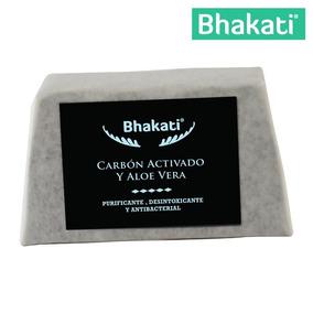 Jabón De Carbón Activado Detox 100% Natural Bhakati