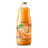 Suco Mitto Vidro 1l Tangerina Integral Com 3 Unidades