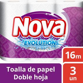 Toalla Nova Evolution 3 Unidades 16m