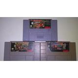 Juegos De Super Nintendo Trilogia Dk