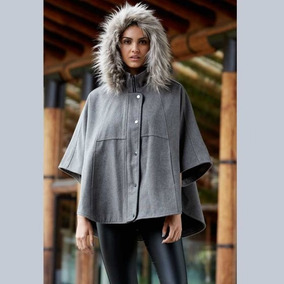 Poncho Casual Gris Holly Land A275