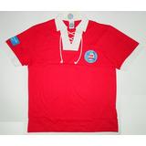 Camisa Polo Fundação Bahia Retrô Licenciada Ctsports 876b8bf95108f