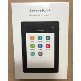 Tablet Ledger Personal Security Bitcoin - Troco Iphone Ipad
