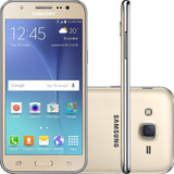Smartphone Samsung Galaxy J5 Duos 16gb 13mp Dourado(vitrine)